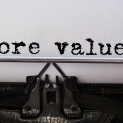 Writing Prompt: The 5 Values That Shape Your Work